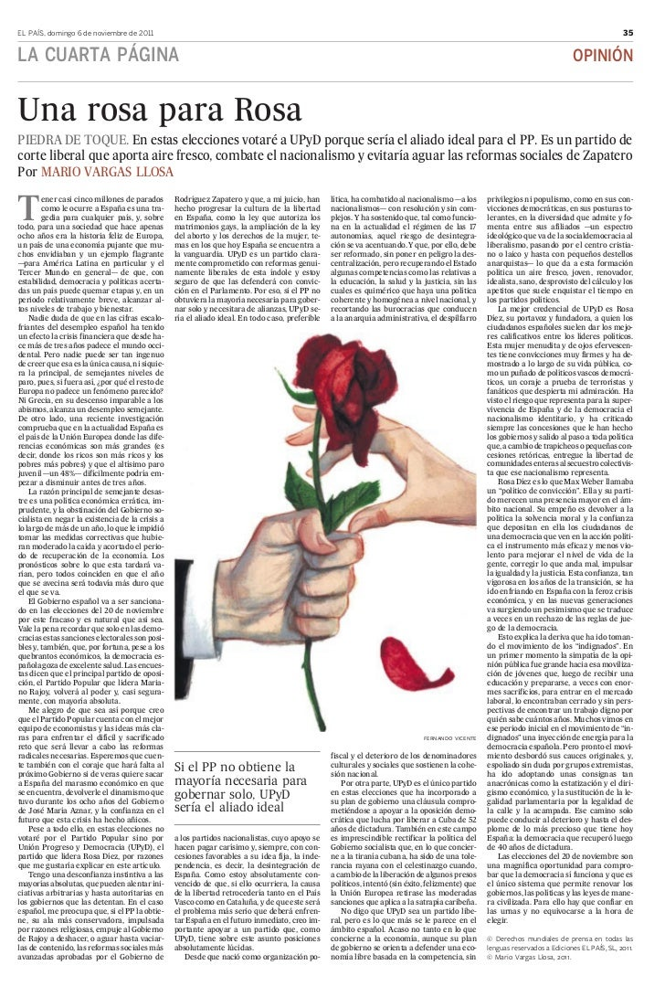 EL PAÍS, domingo 6 de noviembre de 2011                                                                                   ...
