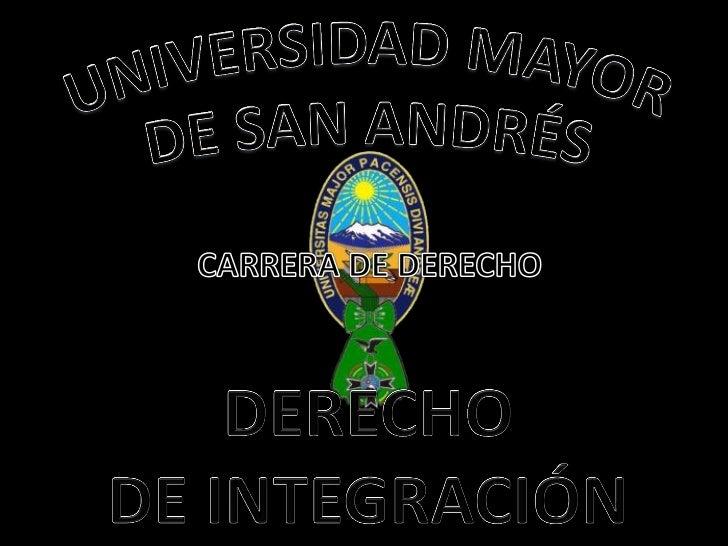 La  Unión de Naciones Suramericanas esuna comunidad política y económica queintegra a los doce países independientesde Su...