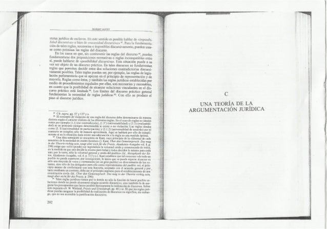 Una teoría de la argumentacion juridica   r alexy