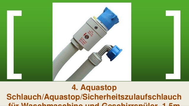 Bosch Siemens Zulaufschlauch Aquastopschlauch Schlauch für Geschirrspüler 299756