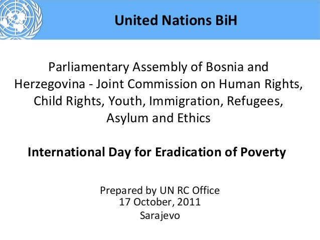 United Nations BiH     Parliamentary Assembly of Bosnia andHerzegovina - Joint Commission on Human Rights,   Child Rights,...