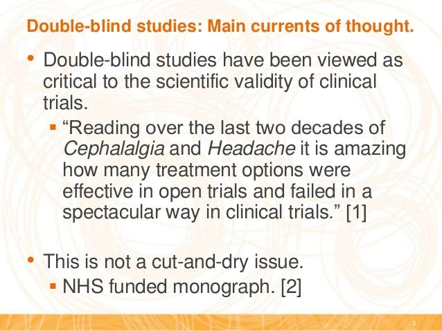Reducing bias in open-label trials where blinded outcome ...