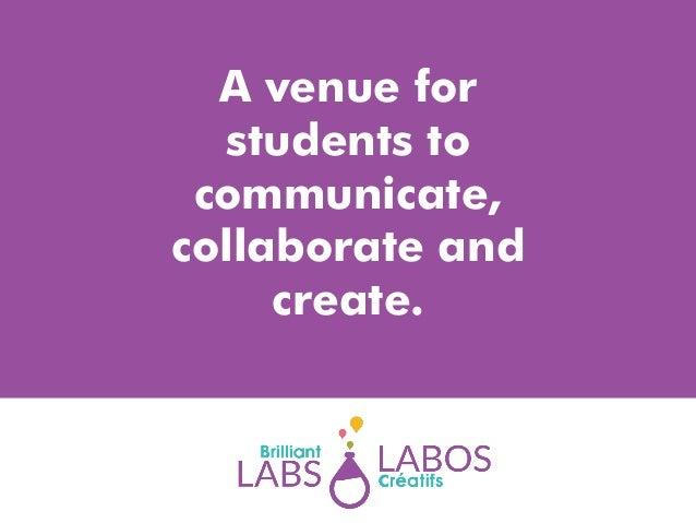 Brilliant labs re pre service science teachers for Academie lafontaine piscine