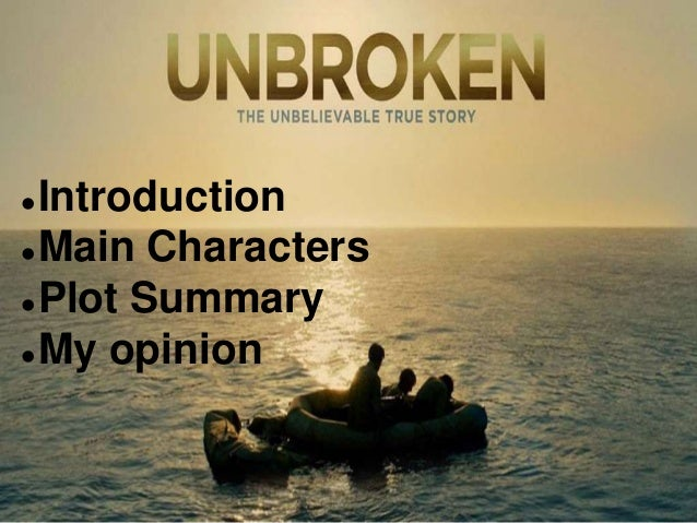 Introduction Main Characters Plot Summary My opinion
