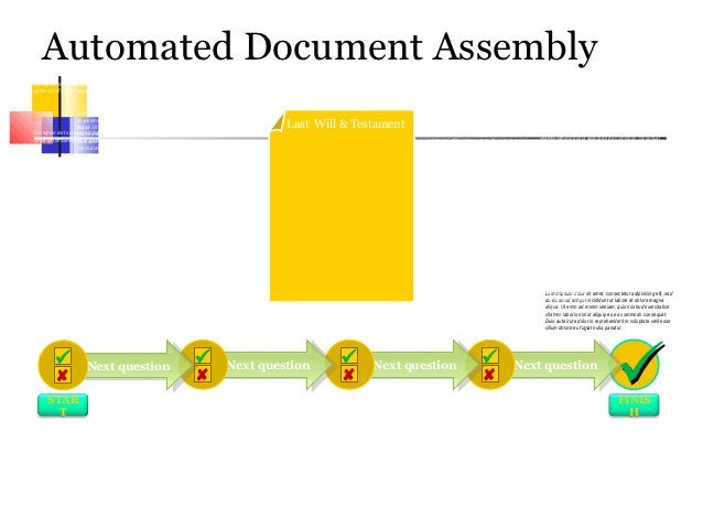 Automated Document Assembly                                                                                               ...