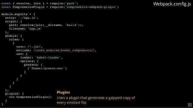 Unbundling the JavaScript module bundler - Codemotion Rome 2018