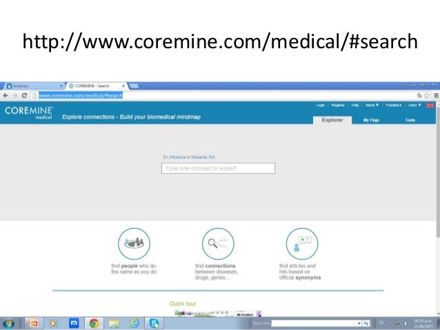 http://www.coremine.com/medical/#search