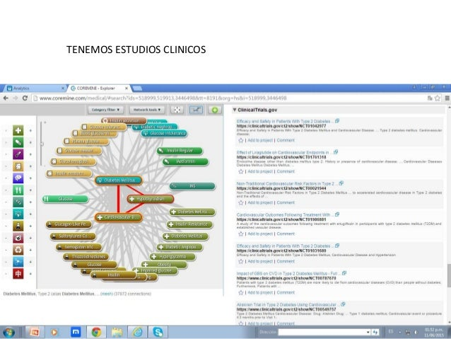 TENEMOS ESTUDIOS CLINICOS