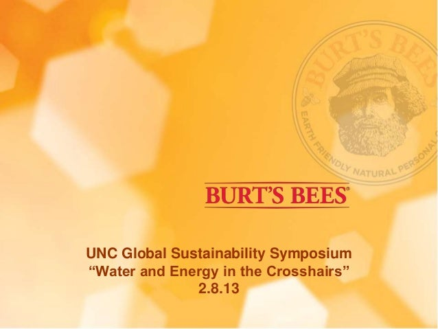 "UNC Global Sustainability Symposium""Water and Energy in the Crosshairs""              2.8.13"