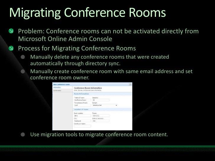 Exchange Online Conference Rooms