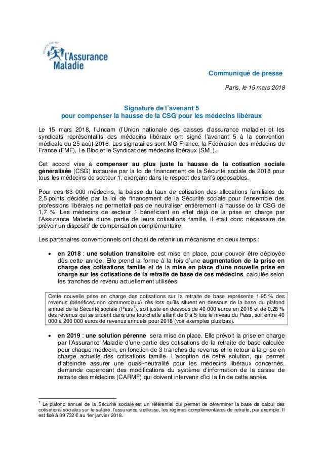 Compensation De La Hausse De La Csg Pour Les Medecins Liberaux