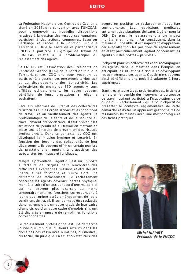 L'UNCCAS et la FNCDG publient un guide sur le reclassement Slide 2