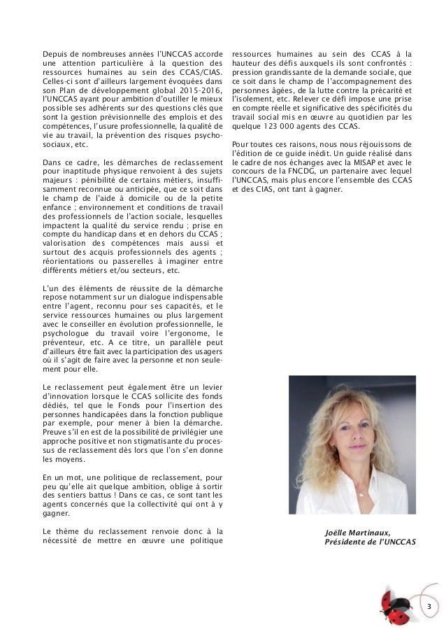 L'UNCCAS et la FNCDG publient un guide sur le reclassement Slide 3