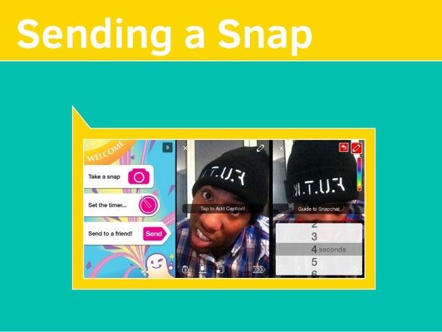 MAKE YOUR Sending a Snap