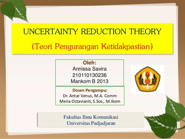social penetration theory and uncertainty reduction Sage books the ultimate social sciences digital library uncertainty reduction theory 'social penetration theory', in littlejohn.