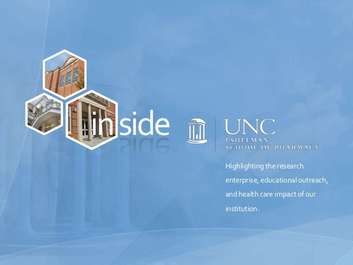 side<br />in<br />Highlighting the research enterprise, educational outreach, and health care impact of our institution.<b...