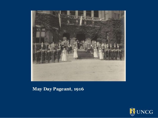 May Day Pageant, 1916