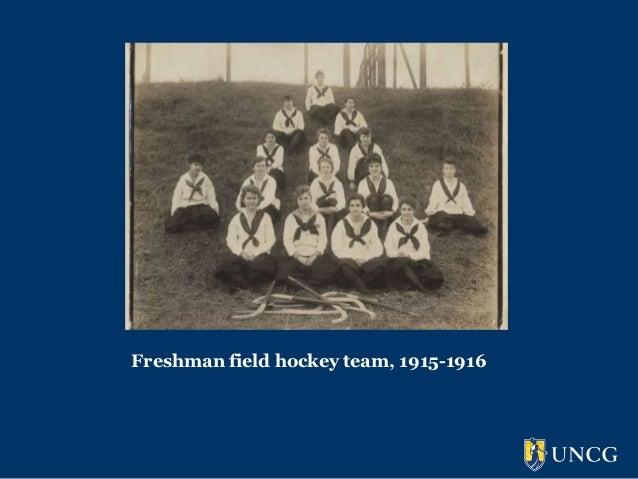 Freshman field hockey team, 1915-1916