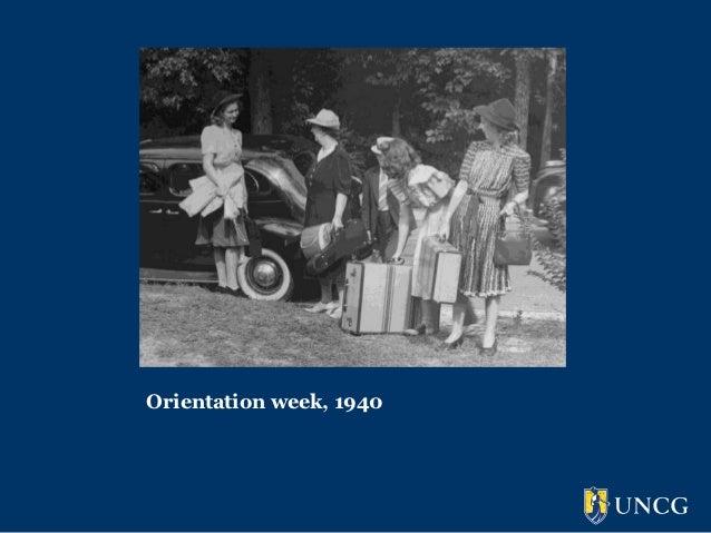 Orientation week, 1940