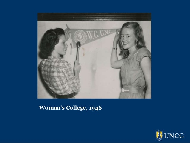 Woman's College, 1946