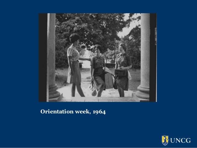 Orientation week, 1964