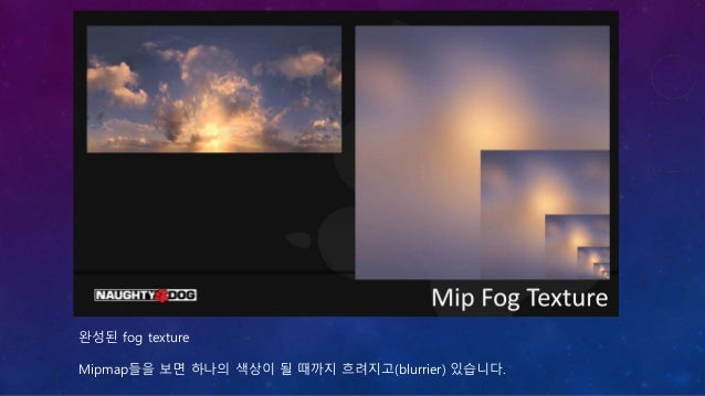 Mip Fog를 설명하기 위해 약간의 오류를 포함한 내용이 이어집니다.