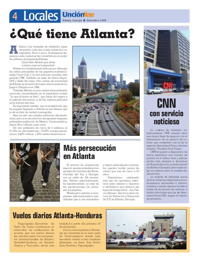 List of newspapers and local news sites in Atlanta - Georgia.