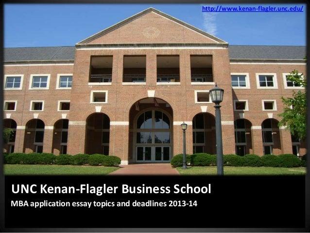 Kenan Flagler Application Essays For University - image 4