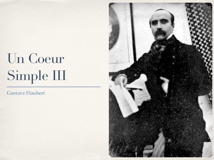 Un CoeurSimple IIIGustave Flaubert