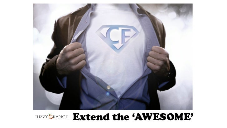 Extend the 'AWESOME'