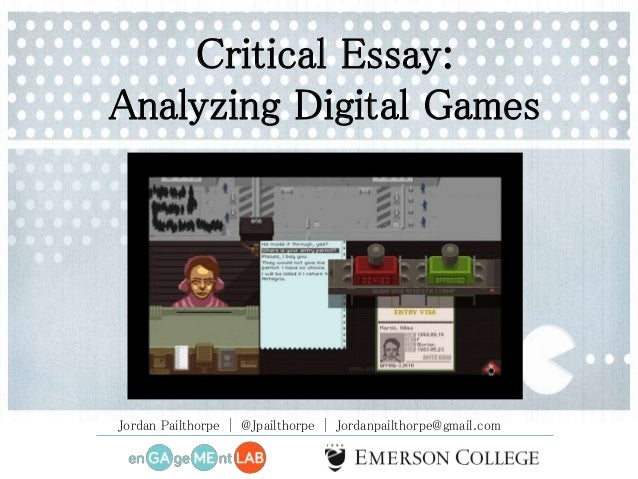 preproduction for game designing essay How to make a successful podcast by brendan hesse @brendan_lh  planning and preproduction before you go about recording your first episode,.
