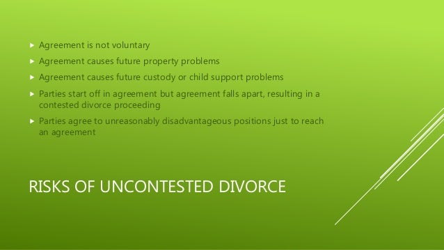 Uncontested Divorce In Dallas And Fort Worth,