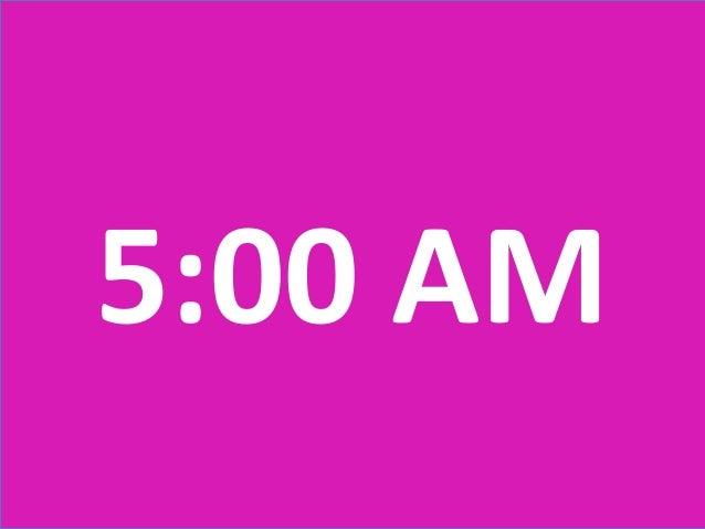 5:00 AM
