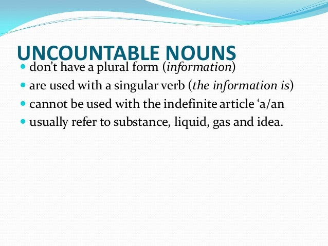 Singular Nylon Plural Countable 110