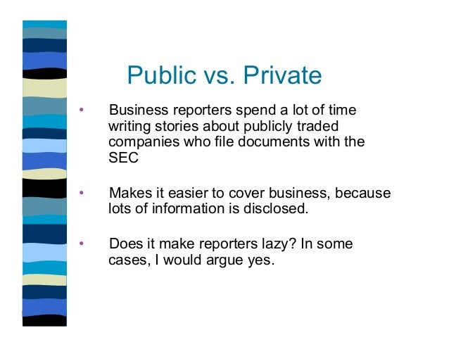 how to find information on private companies