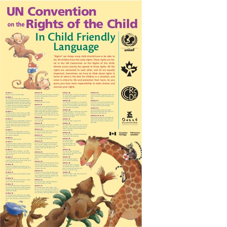 UN Convention on the Rights of the Child         In Child Friendly             Language                                   ...