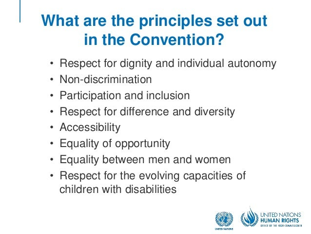the goals of the inter american convention on persons with disabilities In 2009, haiti ratified both the un convention on the rights of persons with disabilities and the inter-american convention on the elimination of all forms of discrimination against persons with disabilities.