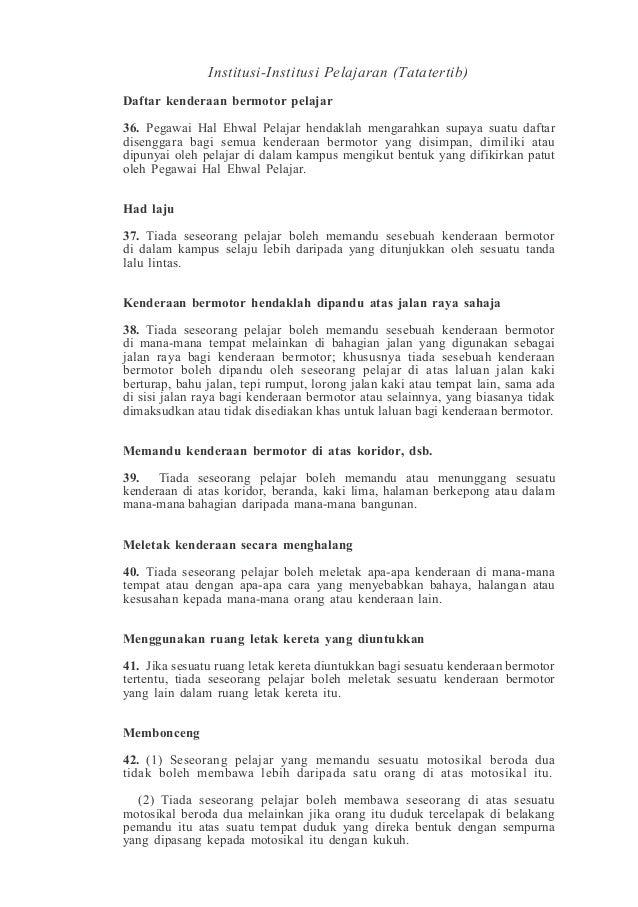 Akta 174 Ipg Politeknik Universiti