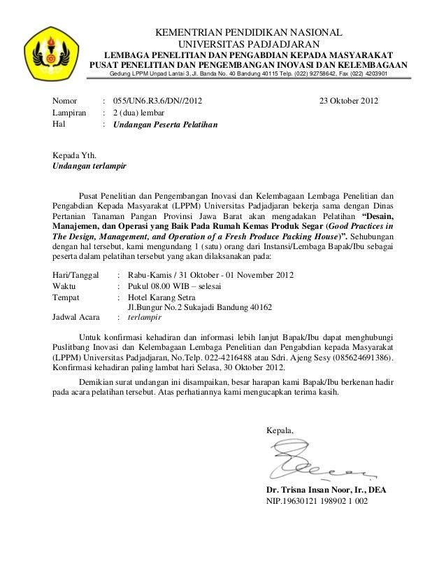 KEMENTRIAN PENDIDIKAN NASIONAL                                  UNIVERSITAS PADJADJARAN              LEMBAGA PENELITIAN DA...