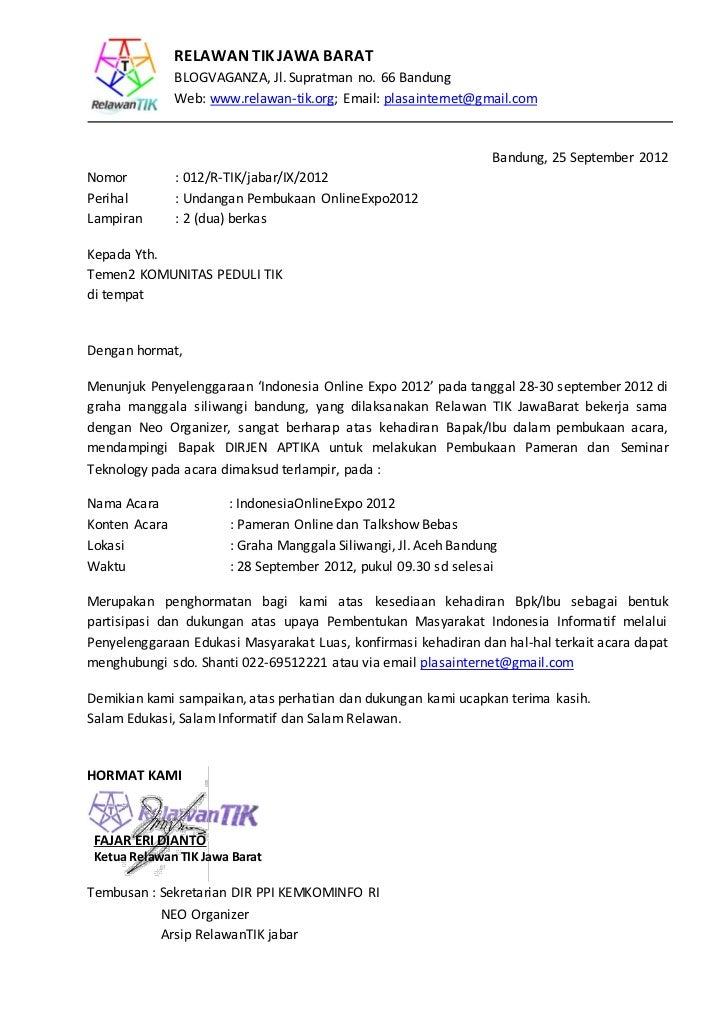 RELAWAN TIK JAWA BARAT               BLOGVAGANZA, Jl. Supratman no. 66 Bandung               Web: www.relawan-tik.org; Ema...