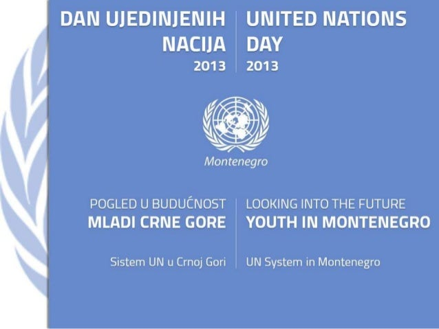 Youth in Montenegro - UN Day 2013