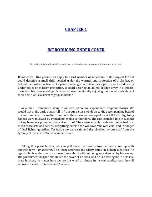 Under Cover John Bevere