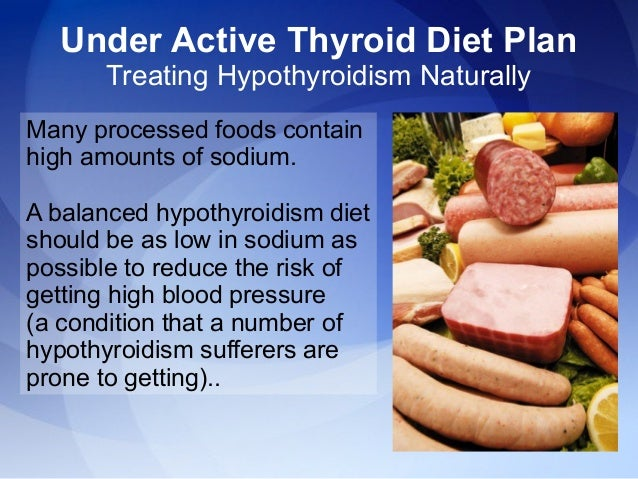 Foods That Cure Hypothyroidism Naturally