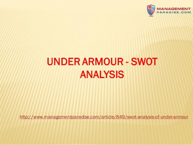 Under Armour: A Short SWOT Analysis - Value Line