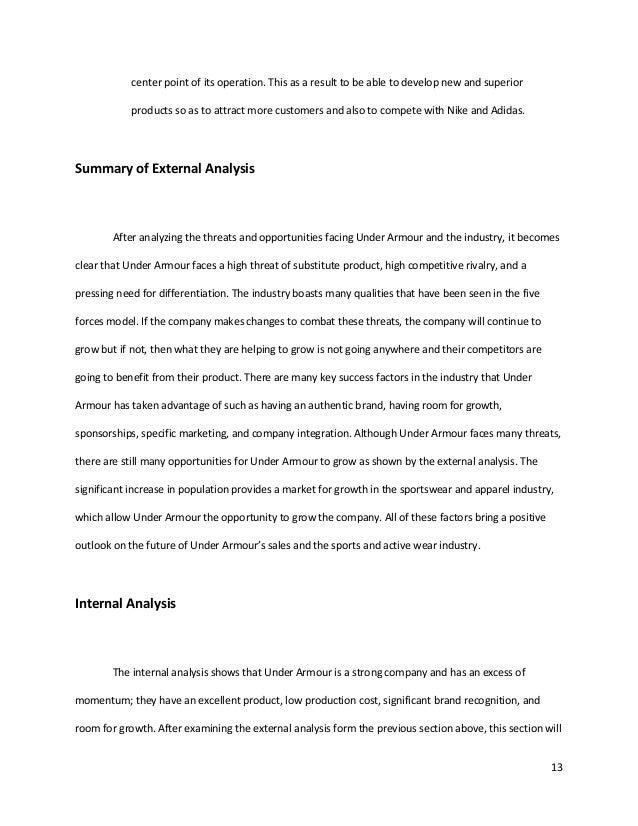 batería paquete Peluquero  Under armour case analysis by Njinyah Ciro
