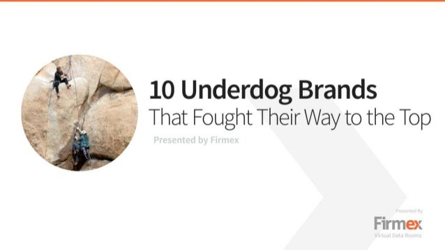 10 Underdog Brands That Fought Their Way to the Top