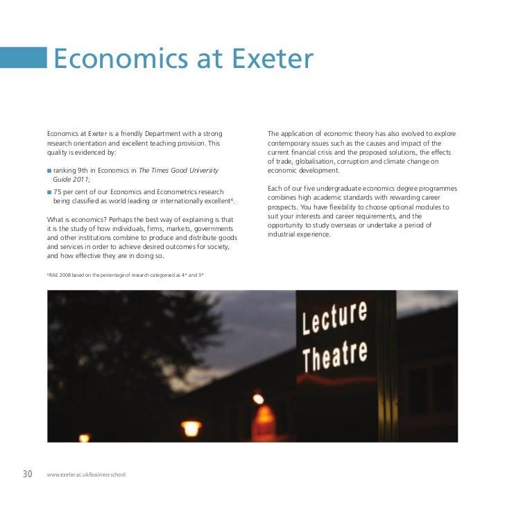 International strategy university of exeter