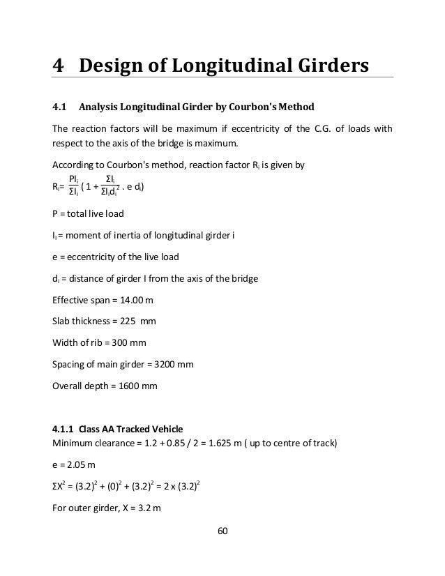 Courbon S Method Bridge Design