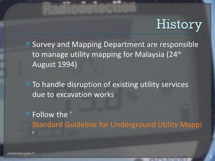 Underground Utility Detection