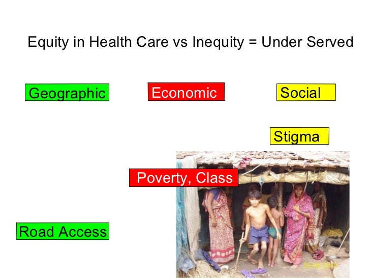 lowering the gap of health inequity essay The growing inequality in health care use in america is reflected in worsening outcomes for those with lesser incomes while the health gap between rich and poor canadians has been closing, ours has been widening today, the wealthiest american men live 15 years longer than their poor counterparts.